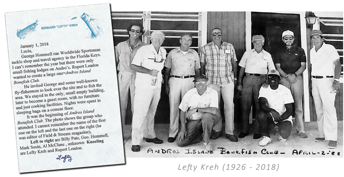 Lefty Kreh Andros Island Bonefishing